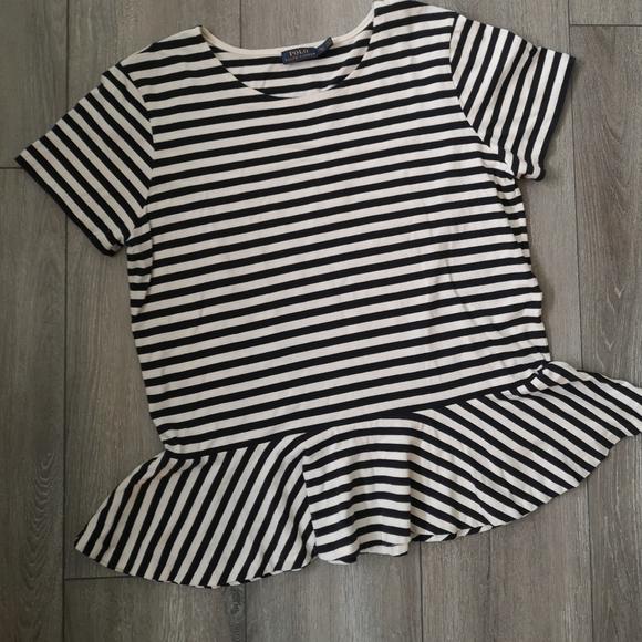 Polo by Ralph Lauren women striped shirt
